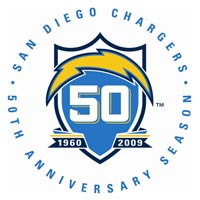 Chargers 50th